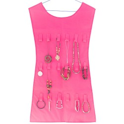 Pink Dress Jewellery and Accessory Organiser