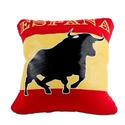 Spanish Bull Cushion 30 x 30cm