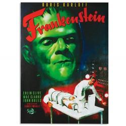 Frankenstein Picture on Linen Canvas 50 x 70