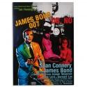 James Bond 007 Dr. No Picture on Linen Canvas 50 x 70