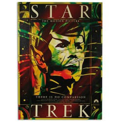 Star Trek Picture on Linen Canvas 50 x 70