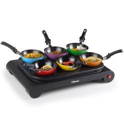 Tristar BP2827 Wok Set (6 Pans, Crepe Plates and Griddle)
