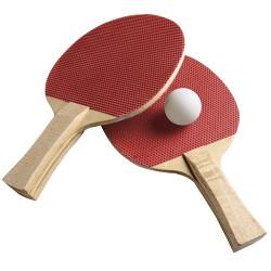 Table Tennis Set 2 Bats + 3 Balls