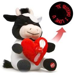 Musical Plush Cow