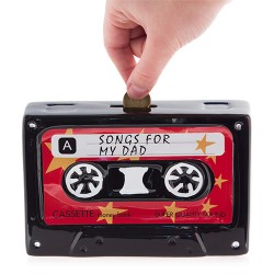 Ceramic Cassette Money Box