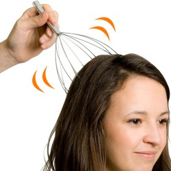 Vibrating Rod Head Massager