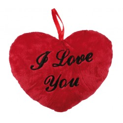 I Love You Heart Cushion (26 cm)