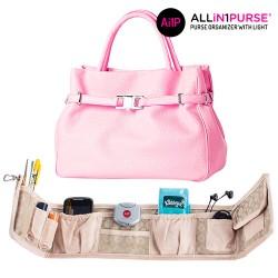 All in 1 Purse Handbag Organiser with Light