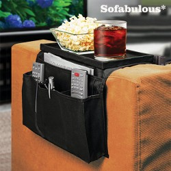 Sofabulous Remote Control Holder with Tray