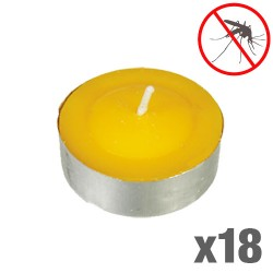 Mosquito Repellent Citronella Candles (pack of 18)