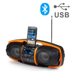 AudioSonic RD1548 Radio MP3 Player with Bluetooth