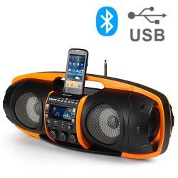 AudioSonic RD1549 Super Radio MP3 Player with Bluetooth