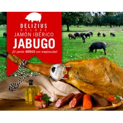 Delizius Deluxe Iberian Jabugo Acorn Shoulder Ham