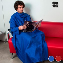 Extra Soft Snug Snug Kangoo Blanket with Sleeves for Adults