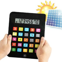 OUTLET iPad Solar Calculator (No packaging)