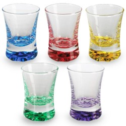 Coloured Shot Glasses