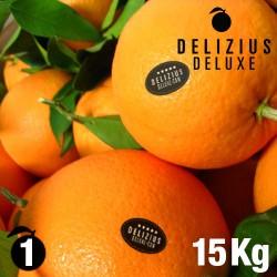 Deluxe Valencian Navelina Oranges 15 kg