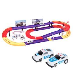 Police Car Race Track