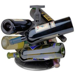 Carousel Wine Bottle Holder