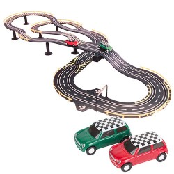 Electric Mini-Style Car Race Track