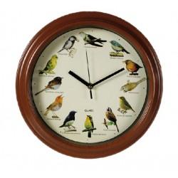 Bird Melody Wall Clock