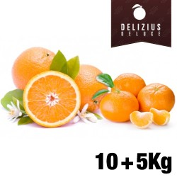 Deluxe Orange and Mandarin Pack (Navelina Orange 10 kg + Clemenules Mandarin 5 kg)