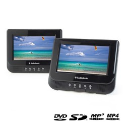 AudioSonic DV1823 7'' Twin Portable DVD Player