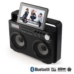 AudioSonic RD1557 Retro MP3 Bluetooth Radio