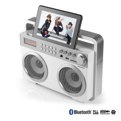 AudioSonic RD1559 Retro MP3 Bluetooth Radio