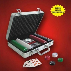 200-Chip Poker Case