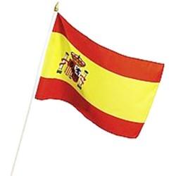 Spanish Flag with Pole 60 x 90cm