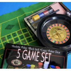 OUTLET 5 Game Set (No packaging)