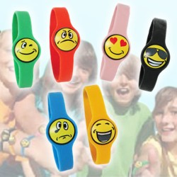 Funny Face Silicone Bracelets