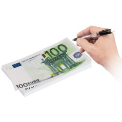 Large 100 Euro Notepad