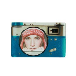 Camera Glass Photo Frame
