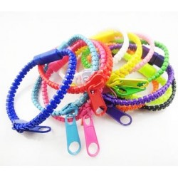 Fashion Zipper Bracelets