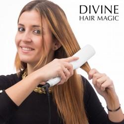 Divine Hair Magic Electric Straightening Hairbrush